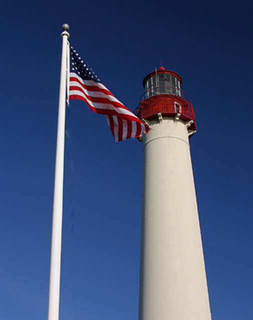 Fourth of July – Wandering Dawgs |Lighthouse Flag Efficiency