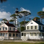 The Way We Were, Cape San Blas lighthouse and keepers' houses
