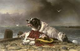 """""""Saved"""" by Sir Edwin Landseer"""