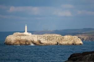 Mouro Island Lighthouse, Spain