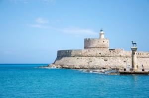 Agios Nikoloas Lighthouse, Rhodes
