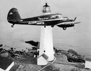 Flying Santa, photo courtesy Friends of Flying Santa