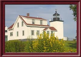 Fort Point Lighthouse, ME, courtesy Jeremy D'Entremont