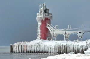 South Haven in Ice