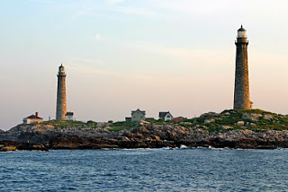 Thacher Island Lighthouses, Photo courtesy Jeremy D'Entremont