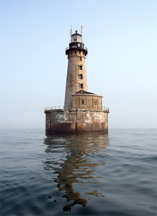 Stannard Rock Light, Photo courtesy lighthousefriends.com