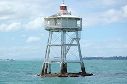 Bean Rock Lighthouse, New Zealand