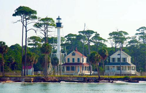 The Way We Were, Cape San Blas, Florida, Lighthouse & Keepers' Houses