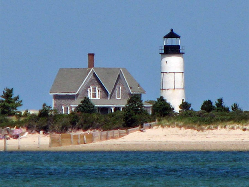 Sandy Neck LIghthouse, photo by Carl Nelson, courtesy Lighthouse Digest magazine