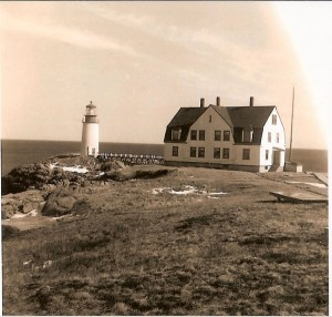 Moosepeak Lighthouse, photo courtesy Lighthouse Digest archives