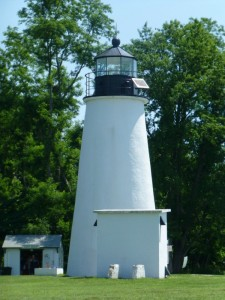 Turkey Point Lighthouse, MD, photo by Donna S.