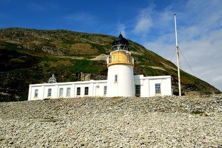 Ailsa Craig Lighthouse, Photo by Ian Cowe