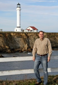 Kraig Anderson at Point Arena Lighthouse, CA