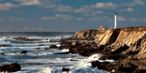 Point Arena Lighthouse, CA, courtesy The Lighthouse People