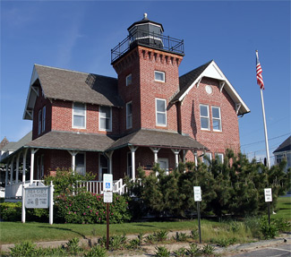 Sea Girl Lighthouse, NJ, photo courtesy lighthousefriends.com
