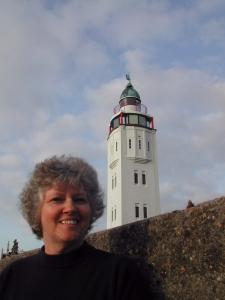 Elinor at Harlingen Light, Holland
