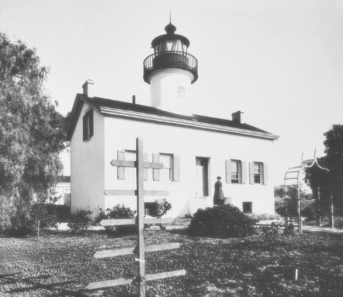 Santa Barbara Lighthouse, 1894, photo courtesy US Coast Guard