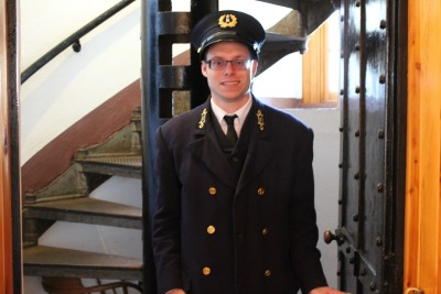 Keeper Bart at Old Mackinac Lighthouse, MI