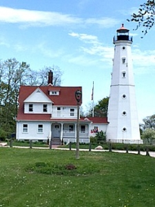 North Point Lighthouse, WI by Rosemary