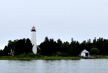 St.Helena Lighthouse, MI, photo by Chuck Turk