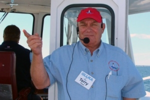 Terry Pepper, lighthouse tour guide