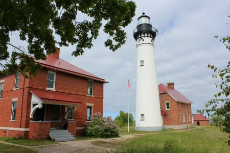 Au Sable Light, MI, photo by Chuck Turk