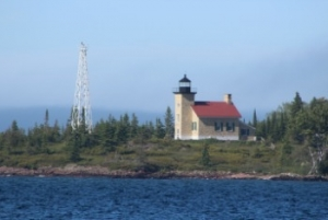 Copper Harbor Lighthouse, photo by Chuck Turk
