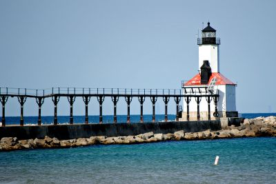Michigan City Pierhead LIght, IN, from Tom Tag