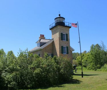 Ontonccagon Lighthouse, MI, Photo by Chuck Turk