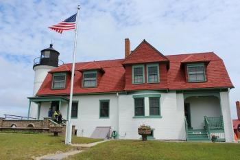 Point Betsie Lighthouse, MI, photo by Chuck Turk