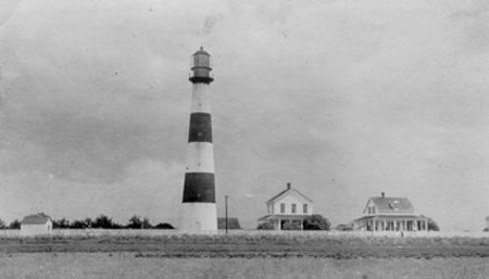 Bolivar Point Lighthouse, photo courtesy U.S. Coast Guard