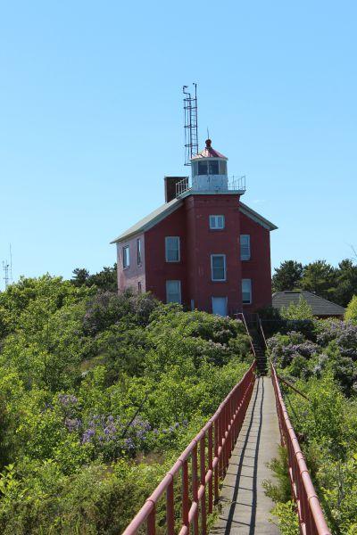 Marquette Harbor Light, photo by Chuck Turk