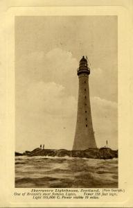 Old Postcard of Skerryvore, Scotland