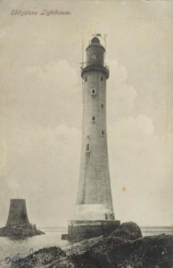 Old Postcard of Eddystone, Scotland