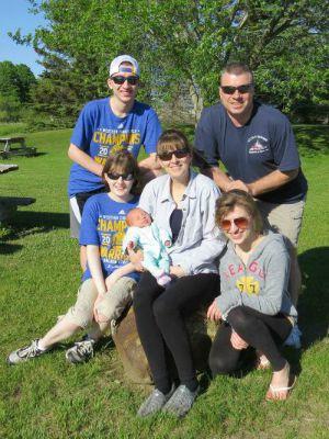 Bob Trapani and family