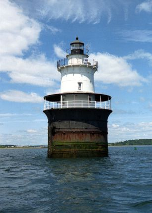 Lubec Channel Light, ME, photo courtesy The Lighthouse People