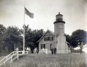 White River Lighthouse, courtesy Michigan archives