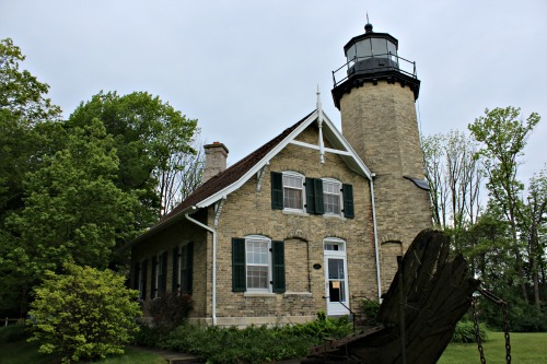 White River Lighthouse, MI, photo by Chuck Turk