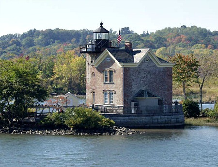 Saugerties Lighthouse, Hudson River, NY, photo by Sonja K. Keohane