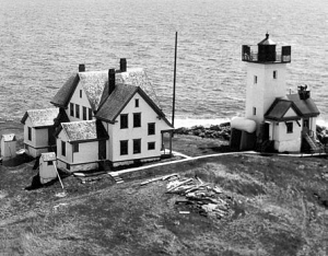 Two Bush lighthouse, photo courtesy US Coast Guard
