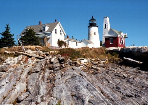 Pemaquid Point Lighthouse, ME, photo courtesy The Lighthouse People