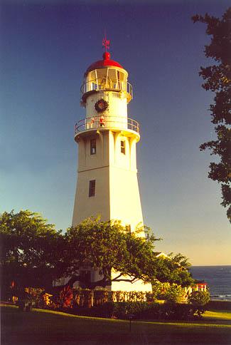 Diamondhead Lighthouse, Hawaii,