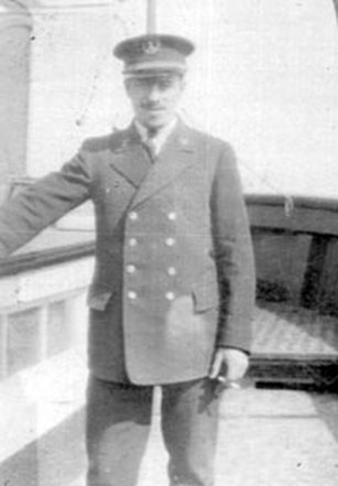Cuttyhunk Keeper Octave Ponsart (photo courtesy Seamond Ponsart Roberts)