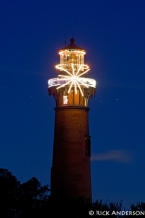 Currituck Beach Lighthouse, photo by Rick Anderson