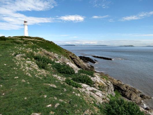 Flat Holm Lighthouse, UK
