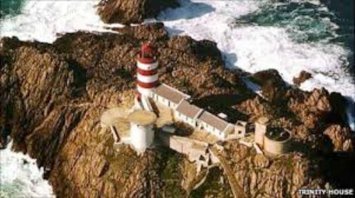 Casquets Lighthouse, UK, photo courtesy Trinity House