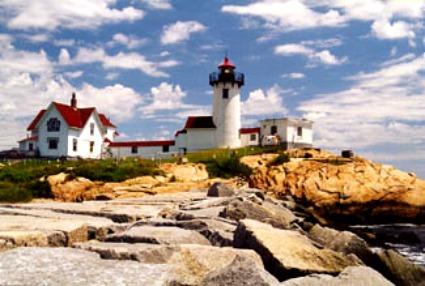 Eastern Point Lighthouse, Gloucester, MA, photo courtesy Kraig Anderson