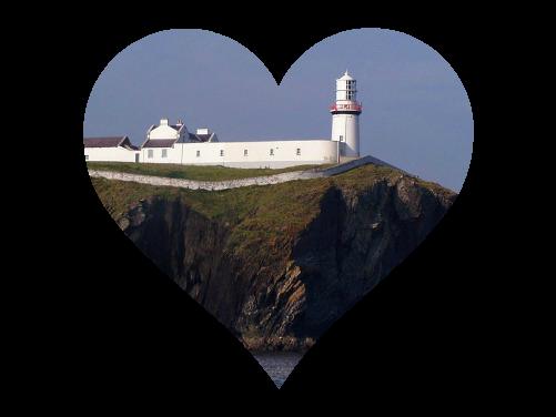 Galley Head Lighthouse, Ireland, photo from wikipedia public domain