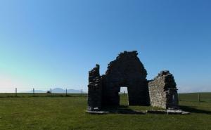 ruins of church near St. John's Point