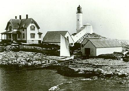 White Island Lighthouse, old photo